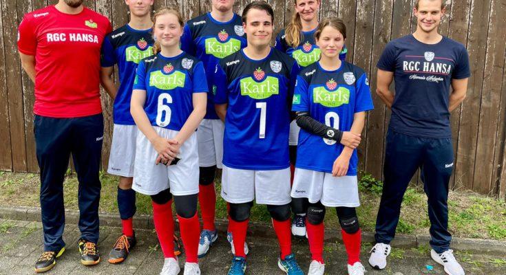 Das Team des RGC II, Zweitligameister 2021
